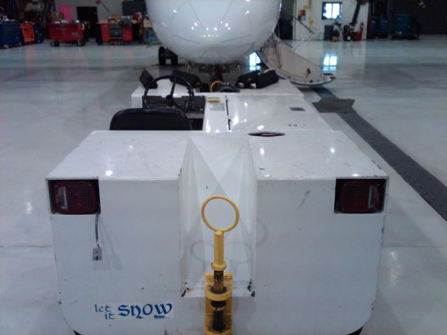 Cold Weather Propane Conversion on Airplane Tug