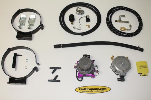 Propane Conversion Parts Kits And Accessories Universal 4 Barrel V8